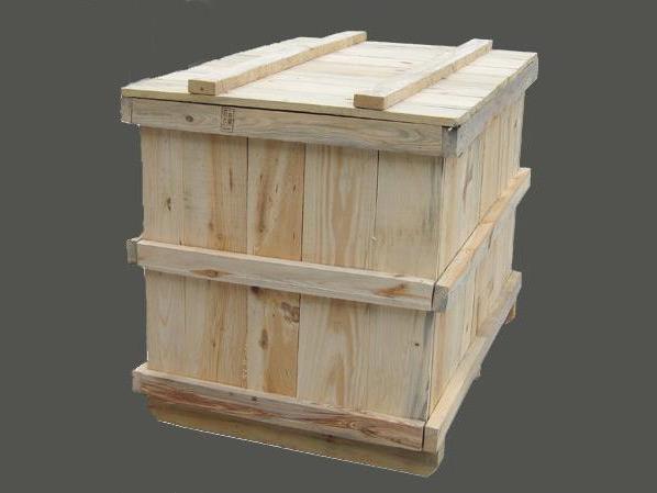 外框架木箱/